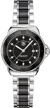 Buy this new Tag Heuer Formula 1 Quartz 32mm wah1314.ba0867 ladies watch for the discount price of £1,190.00. UK Retailer.