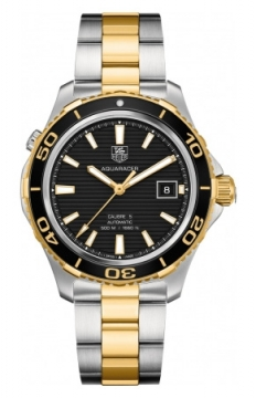 Tag Heuer Aquaracer Automatic 500M Calibre 5 Mens watch, model number - wak2122.bb0835, discount price of £2,080.00 from The Watch Source