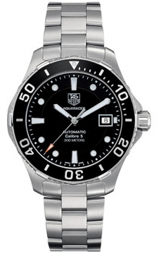 Tag Heuer Aquaracer Automatic Mens watch, model number - wan2110.ba0822, discount price of £1,400.00 from The Watch Source