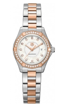 Tag Heuer Aquaracer Quartz Ladies 27mm Ladies watch, model number - wap1452.bd0837, discount price of £4,141.00 from The Watch Source
