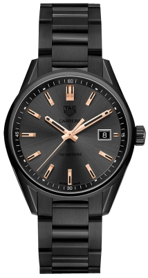 Buy this new Tag Heuer Carrera Quartz war1113.ba0602 ladies watch for the discount price of £1,742.00. UK Retailer.
