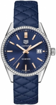 Buy this new Tag Heuer Carrera Quartz war1114.fc6391 ladies watch for the discount price of £2,847.00. UK Retailer.