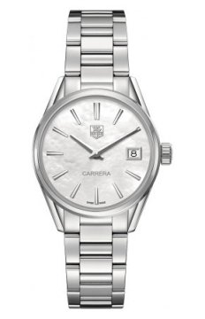 Buy this new Tag Heuer Carrera Quartz war1311.ba0778 ladies watch for the discount price of £1,100.00. UK Retailer.