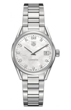 Buy this new Tag Heuer Carrera Quartz war1314.ba0778 ladies watch for the discount price of £1,610.00. UK Retailer.