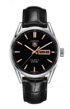 Buy this new Tag Heuer Carrera Caliber 5 Day Date war201c.fc6266 mens watch for the discount price of £1,997.00. UK Retailer.