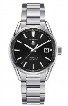 Tag Heuer Carrera Caliber 5 Mens watch, model number - war211a.ba0782, discount price of £1,517.00 from The Watch Source
