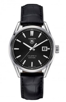 Buy this new Tag Heuer Carrera Caliber 5 war211a.fc6180 mens watch for the discount price of £1,742.00. UK Retailer.