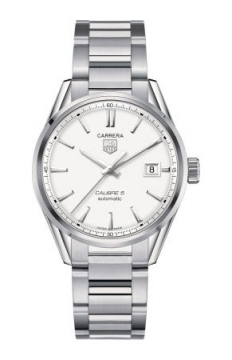 Tag Heuer Carrera Caliber 5 Mens watch, model number - war211b.ba0782, discount price of £1,780.00 from The Watch Source
