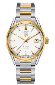 Tag Heuer Carrera Caliber 5 Mens watch, model number - war215b.bd0783, discount price of £2,665.00 from The Watch Source