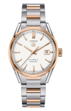 Tag Heuer Carrera Caliber 5 Mens watch, model number - war215d.bd0784, discount price of £2,900.00 from The Watch Source