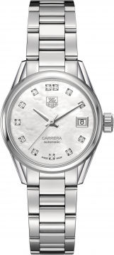 Buy this new Tag Heuer Carrera Automatic war2414.ba0776 ladies watch for the discount price of £2,082.00. UK Retailer.