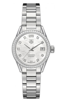 Buy this new Tag Heuer Carrera Automatic war2415.ba0776 ladies watch for the discount price of £3,272.00. UK Retailer.