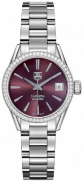 Buy this new Tag Heuer Carrera Automatic war2418.ba0776 ladies watch for the discount price of £2,932.00. UK Retailer.