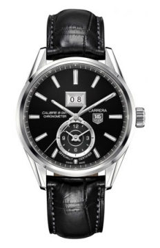 Tag Heuer Carrera Grande Date GMT Mens watch, model number - war5010.fc6266, discount price of £2,520.00 from The Watch Source