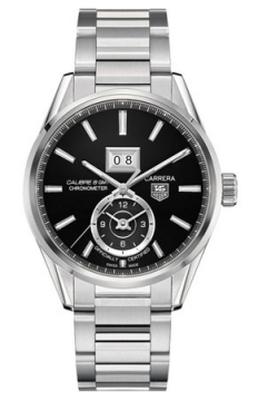 Tag Heuer Carrera Grande Date GMT Mens watch, model number - war5010.ba0723, discount price of £2,520.00 from The Watch Source