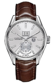 Tag Heuer Carrera Grande Date GMT Mens watch, model number - war5011.fc6291, discount price of £2,260.00 from The Watch Source