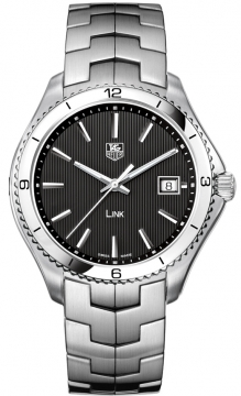 Tag Heuer Link Quartz 40mm Mens watch, model number - wat1110.ba0950, discount price of £1,530.00 from The Watch Source
