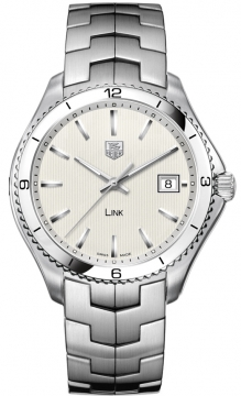 Tag Heuer Link Quartz 40mm Mens watch, model number - wat1111.ba0950, discount price of £1,476.00 from The Watch Source