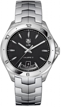 Tag Heuer Link Automatic Mens watch, model number - wat2010.ba0951, discount price of £2,132.00 from The Watch Source