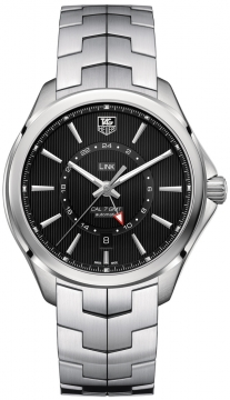 Tag Heuer Link Automatic GMT Mens watch, model number - wat201a.ba0951, discount price of £1,960.00 from The Watch Source