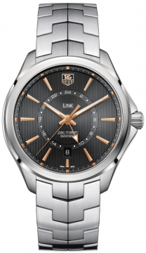 Tag Heuer Link Automatic GMT Mens watch, model number - wat201c.ba0951, discount price of £2,080.00 from The Watch Source
