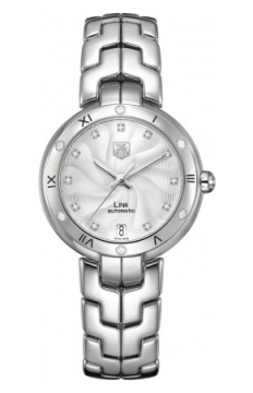 Buy this new Tag Heuer Link Automatic 34.5mm wat2312.BA0956 ladies watch for the discount price of £3,260.00. UK Retailer.
