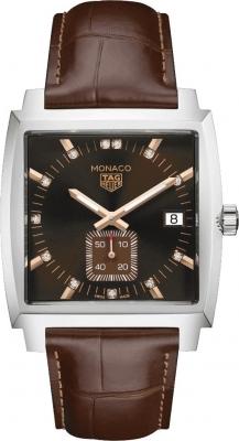 Buy this new Tag Heuer Monaco Quartz waw131e.fc6420 ladies watch for the discount price of £2,035.00. UK Retailer.