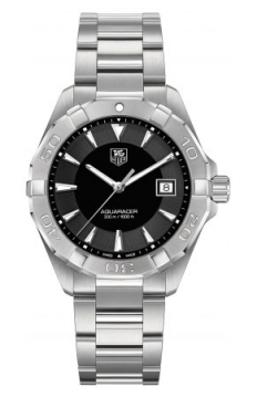 Tag Heuer Aquaracer Quartz Mens watch, model number - way1110.ba0910, discount price of £920.00 from The Watch Source