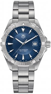 Buy this new Tag Heuer Aquaracer Quartz 41mm way1112.ba0928 mens watch for the discount price of £1,062.00. UK Retailer.