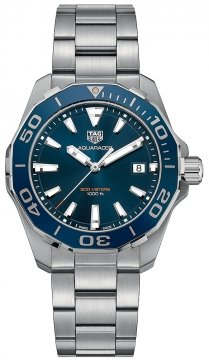 Buy this new Tag Heuer Aquaracer Quartz 41mm way111c.ba0928 mens watch for the discount price of £1,147.00. UK Retailer.