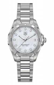 Tag Heuer Aquaracer Quartz Ladies 32mm Ladies watch, model number - way1313.ba0915, discount price of £1,312.00 from The Watch Source