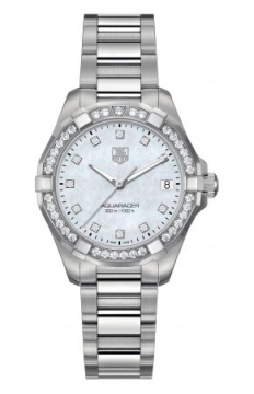 Tag Heuer Aquaracer Quartz Ladies 32mm Ladies watch, model number - way1314.ba0915, discount price of £3,357.00 from The Watch Source