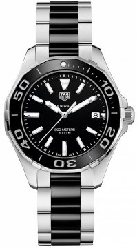 Buy this new Tag Heuer Aquaracer Quartz Ladies 35mm way131a.ba0913 ladies watch for the discount price of £1,147.00. UK Retailer.