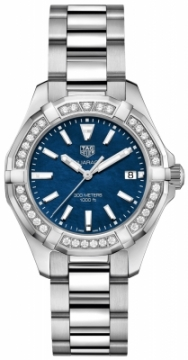 Buy this new Tag Heuer Aquaracer Quartz Ladies 35mm way131n.ba0748 ladies watch for the discount price of £2,337.00. UK Retailer.