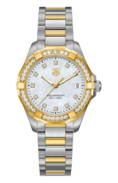 Tag Heuer Aquaracer Quartz Ladies 32mm Ladies watch, model number - way1353.bd0917, discount price of £4,551.00 from The Watch Source