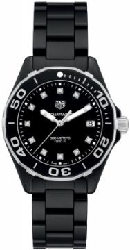 Tag Heuer Aquaracer Quartz Ladies 35mm way1397.bh0743 watch