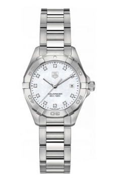 Tag Heuer Aquaracer Quartz Ladies 27mm Ladies watch, model number - way1413.ba0920, discount price of £1,271.00 from The Watch Source