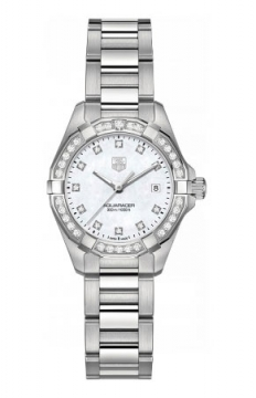 Tag Heuer Aquaracer Quartz Ladies 27mm Ladies watch, model number - way1414.ba0920, discount price of £2,378.00 from The Watch Source