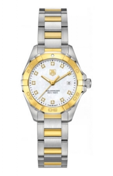 Tag Heuer Aquaracer Quartz Ladies 27mm Ladies watch, model number - way1451.bd0922, discount price of £2,829.00 from The Watch Source