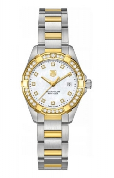 Tag Heuer Aquaracer Quartz Ladies 27mm Ladies watch, model number - way1453.bd0922, discount price of £4,141.00 from The Watch Source