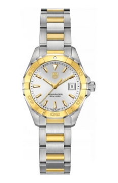 Tag Heuer Aquaracer Quartz Ladies 27mm Ladies watch, model number - way1455.bd0922, discount price of £2,378.00 from The Watch Source