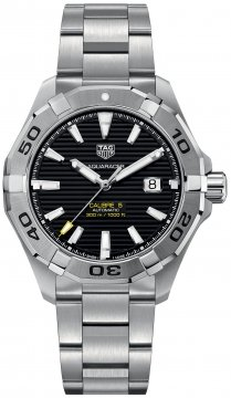 Buy this new Tag Heuer Aquaracer Automatic 43mm way2010.ba0927 mens watch for the discount price of £1,572.00. UK Retailer.