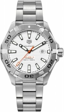 Buy this new Tag Heuer Aquaracer Automatic 43mm way2013.ba0927 mens watch for the discount price of £1,657.00. UK Retailer.