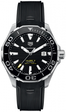 Buy this new Tag Heuer Aquaracer Automatic 43mm way201a.ft6069 mens watch for the discount price of £1,742.00. UK Retailer.