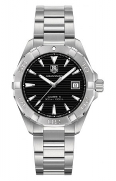 Tag Heuer Aquaracer Automatic Mens watch, model number - way2110.ba0910, discount price of £1,312.00 from The Watch Source