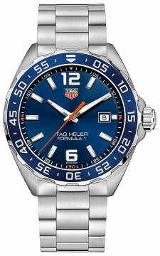 Buy this new Tag Heuer Formula 1 Quartz 43mm waz1010.ba0842 mens watch for the discount price of £892.00. UK Retailer.