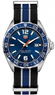 Buy this new Tag Heuer Formula 1 Quartz 43mm waz1010.fc8197 mens watch for the discount price of £807.00. UK Retailer.