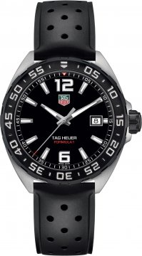 Buy this new Tag Heuer Formula 1 Quartz 41mm waz1110.ft8023 mens watch for the discount price of £855.00. UK Retailer.