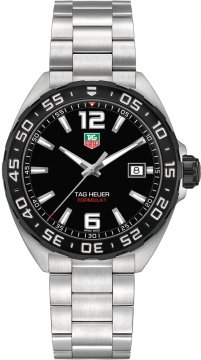 Tag Heuer Formula 1 Quartz 41mm Mens watch, model number - waz1110.ba0875, discount price of £738.00 from The Watch Source