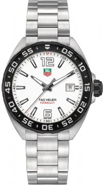 Tag Heuer Formula 1 Quartz 41mm Mens watch, model number - waz1111.ba0875, discount price of £805.00 from The Watch Source